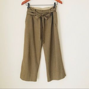 UO cropped wide leg pants